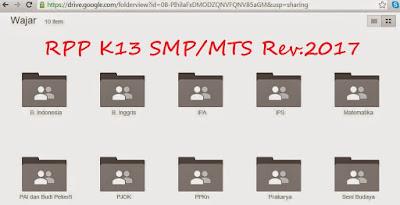ini merupakan perangkat terbaru yang akan saya bagikan sec RPP PJOK Kelas 7 8 9 SMP/MTs Kurikulum 2013 Revisi 2018