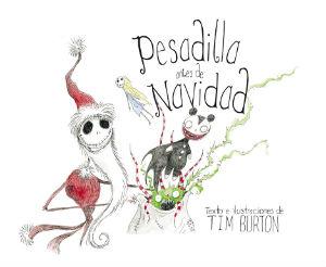 Libro infantil para halloween: pesadilla antes de navidad