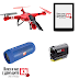 Спечелете 5 дрона, 5 електронни четци, 5 камери и 5 говорителя