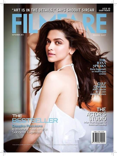 Zooming fast on the success express-Deepika on the cover of Filmfare Middle East
