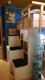 maddyart das 4x4 expedit hochbett. Black Bedroom Furniture Sets. Home Design Ideas