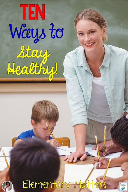 Ten Ways to Stay Healthy - There are things you can do to fight all those germs around us! Here are 10 things you can do!