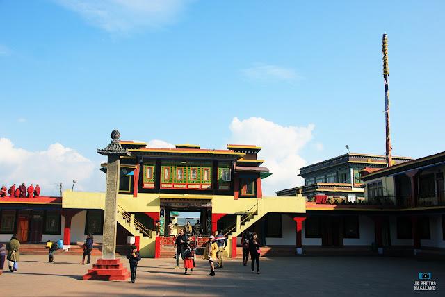 entrance gate rumtek monastery sikkim