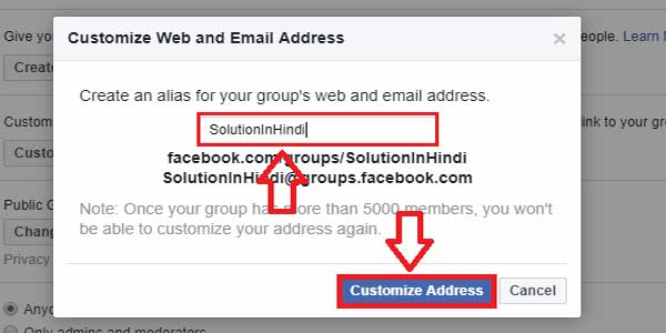 how-to-create-a-facebook-group-custom-url-in-hindi