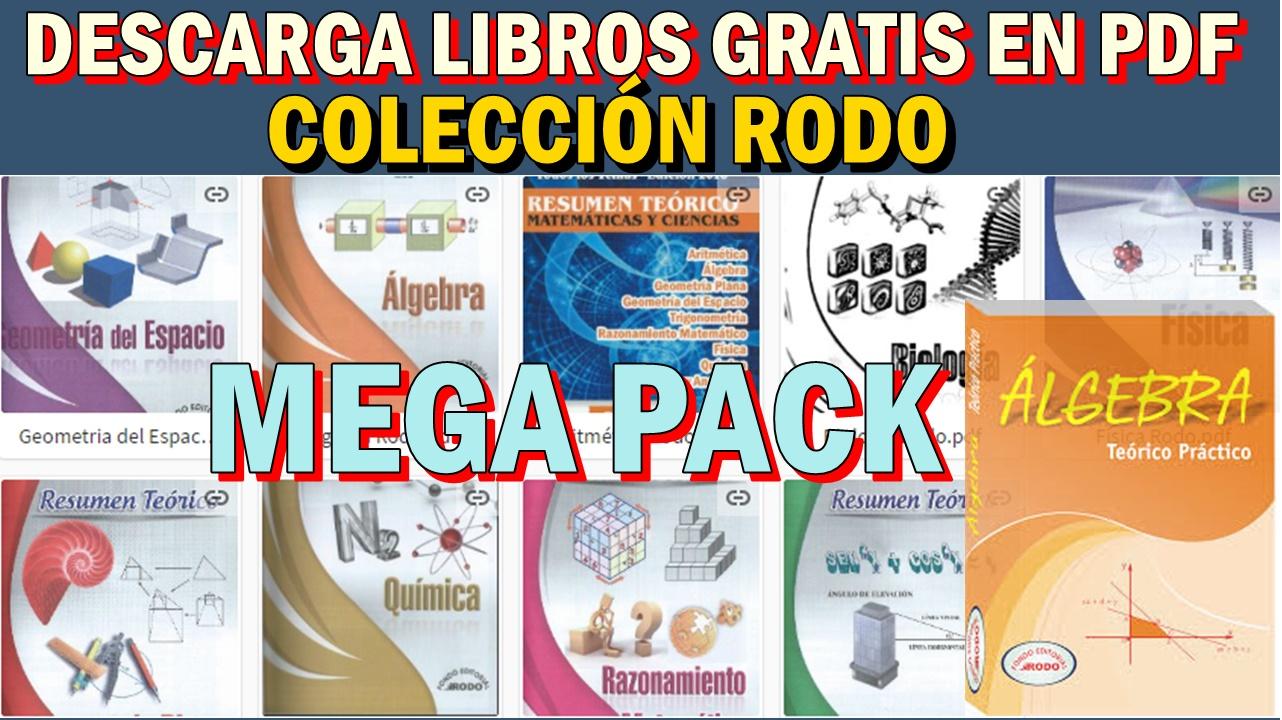 DESCARGA GRATIS LOS LIBROS DE LA COLECCIÓN RODO EN PDF