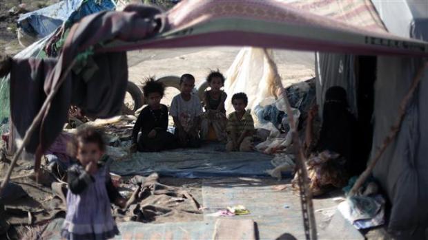 Derita Warga Yaman Berpuasa dalam Kelaparan
