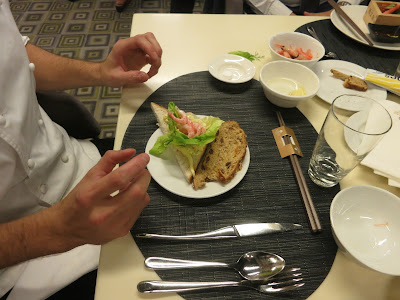 Prawns, Mayonnaise, Bread & Dill