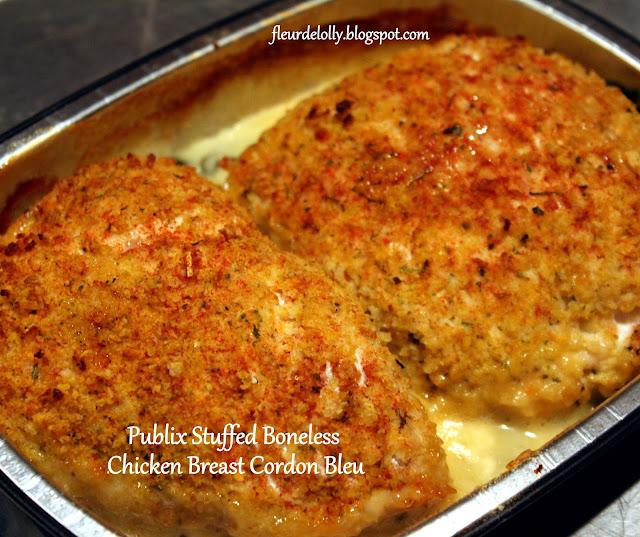Fleur de Lolly: Publix Boneless Stuffed Chicken Breasts Cordon Bleu