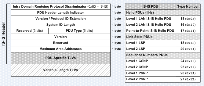 itcertnotes -: IS-IS Protocol Data Units (PDUs)