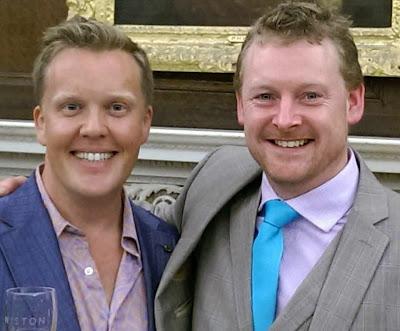 Olly Smith, Dermot Sugrue, Wiston Winery, P&O Cruises