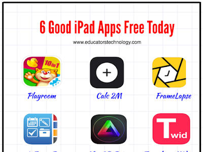 6 Educational iPad Apps Free Today