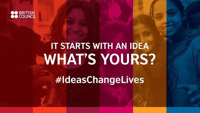 #IdeasChangeLives British Council Competition 2020 £20,000