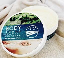 Body Scrub Seaweed Chitosan