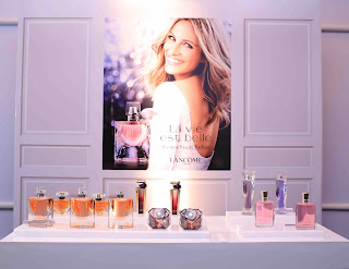 Lancôme perfumes at the Sri Lanka launch
