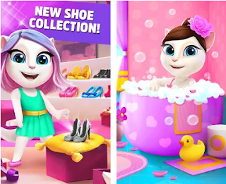 My Talking Angela Apk Mod v3.9.1.165 Unlimited Money Free for android