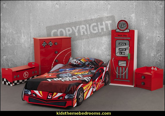 Car Racer theme beds novelty beds kids rooms