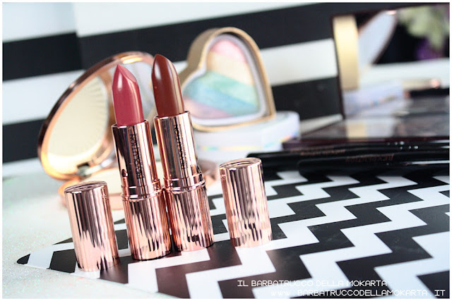 lipstick Rossetto Renaissance  makeup revolution recensione