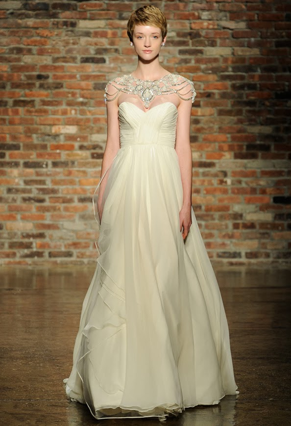 Hayley paige spring 2014 wedding gown collection crazyforus share this junglespirit Images