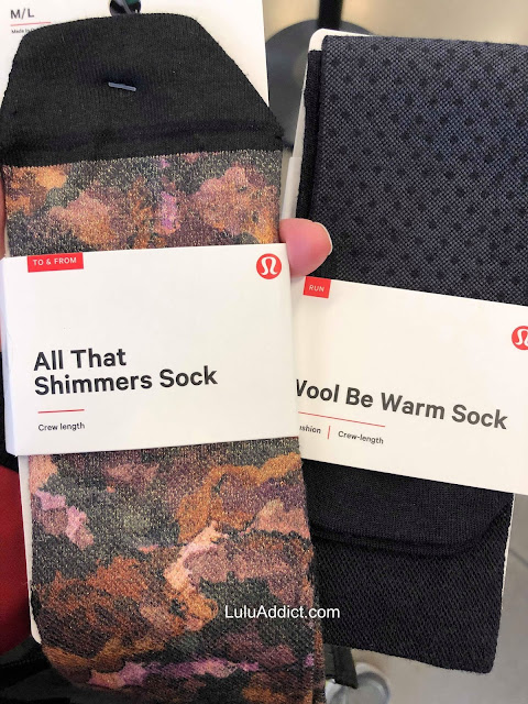 lululemon all-that-shimmer-sock wool-be-warm-sock