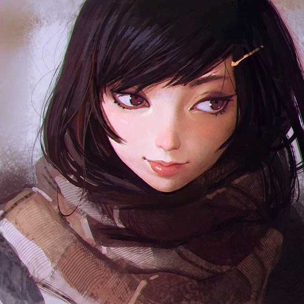 Beautiful Illustrations By Ilya Kuvshinov
