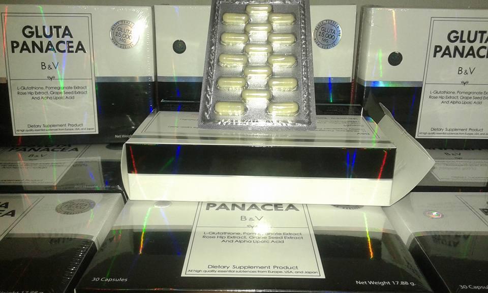 Gluta Panacea Kemasan Terbaru Original