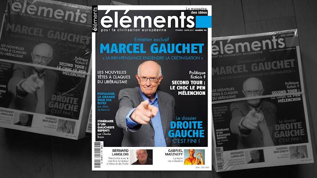 Marcel Gauchet revue Éléments n°164 gauche droite