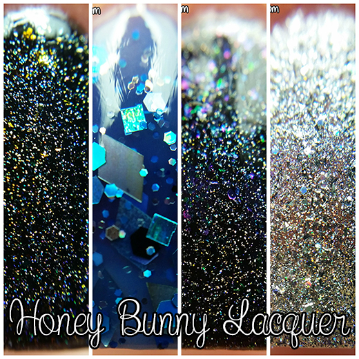 Honey Bunny Lacquer swatches