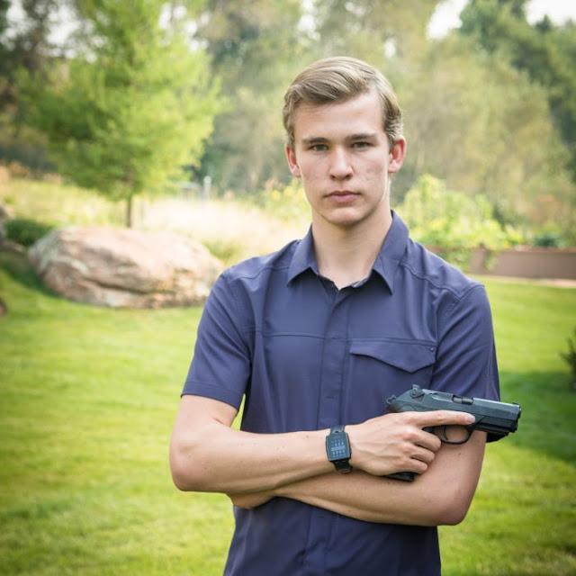 Este chico inventó la pistola más segura del mundo