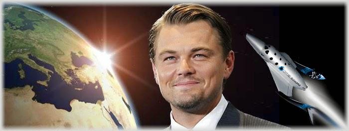 Leonardo DiCaprio viagem espaço