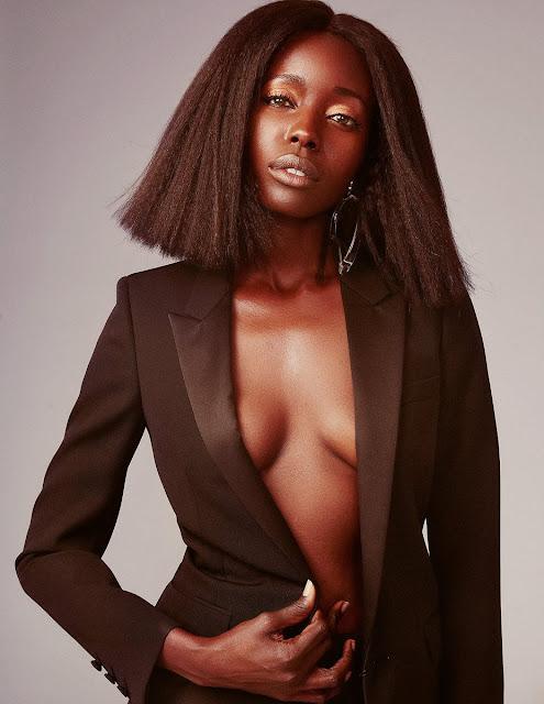 Anna Diop lingerie