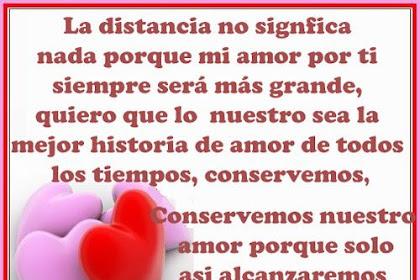 Frases De Amor De Lejos Para Mi Novio