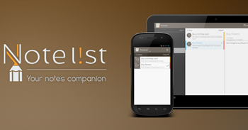 Note L!st gratis para Android - http://www.dominioblogger.com