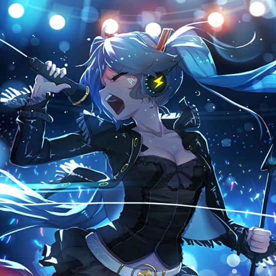 Miku Concert Wallpaper Engine