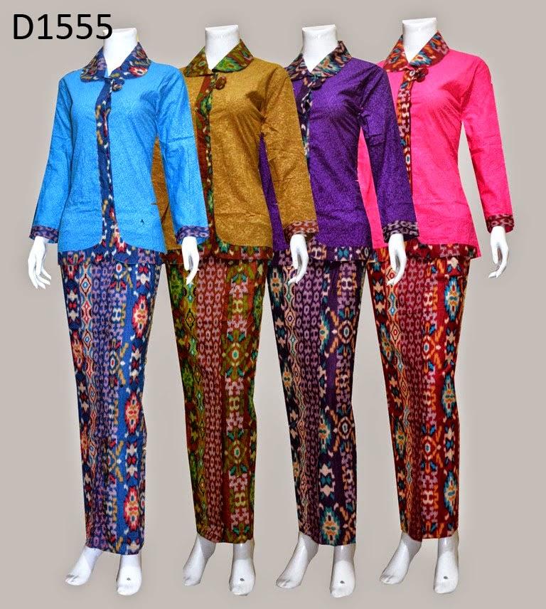 konveksi seragam batik model baju kerja pramugari