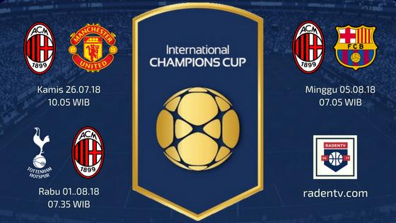 Streaming AC Milan ICC