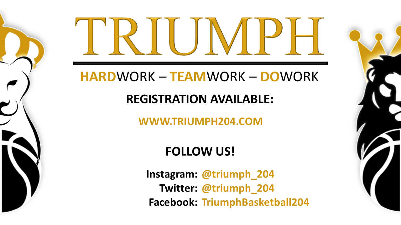 Reminder Triumph Basketball Club Hosting Open Tryouts For -2948