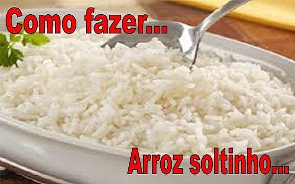 Receita de arroz soltinho para iniciantes (Imagem: Reprodução/Internet)