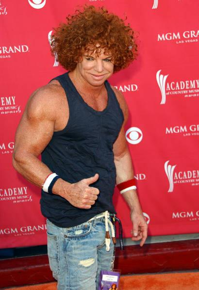 Ironiclast The Many Creepy Phases Of Carrot Top