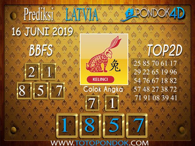 Prediksi Togel LATVIA PONDOK4D 16 JUNI 2019