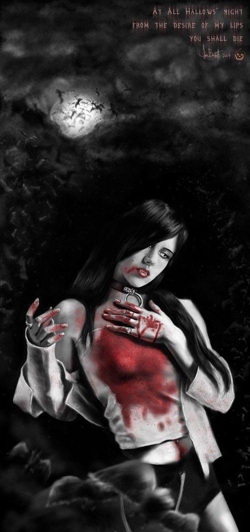 aterradoras imágenes de vampiros