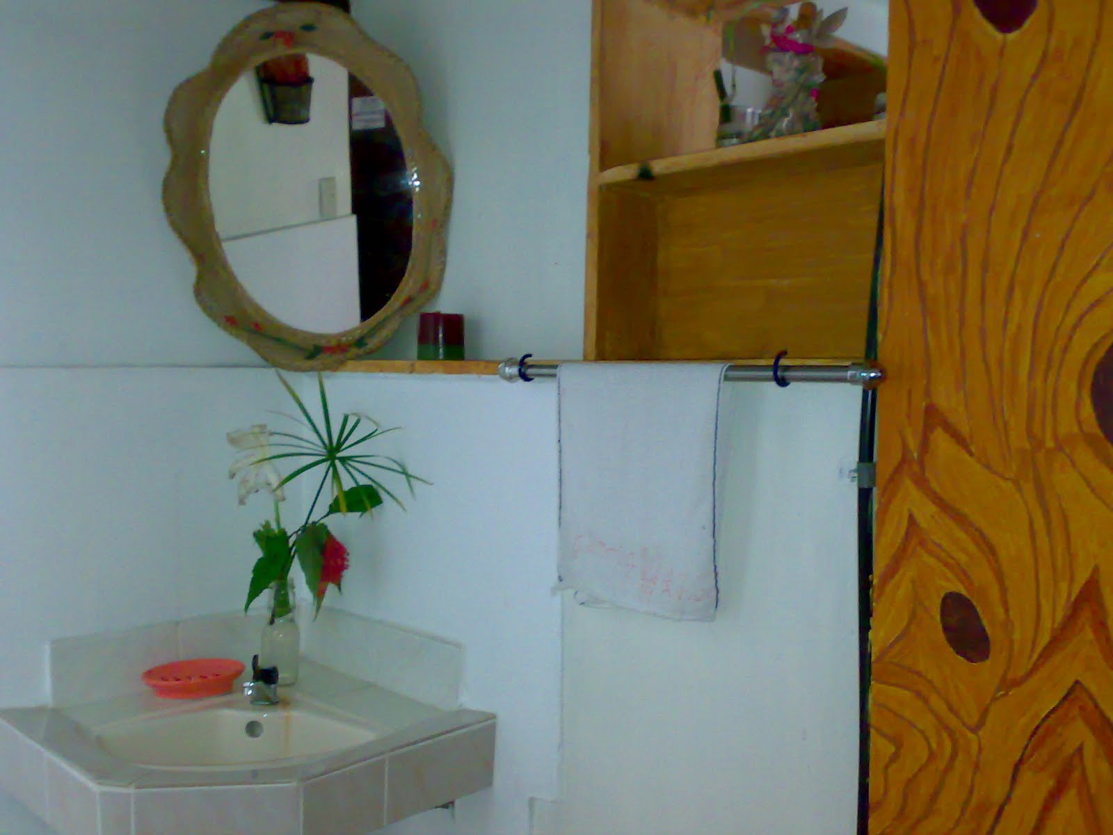 Lou's Three-Bedroom Transient House: The Bathroom