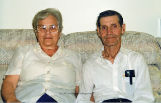 Lucille and Ovila Desgroseilliers in August 1990