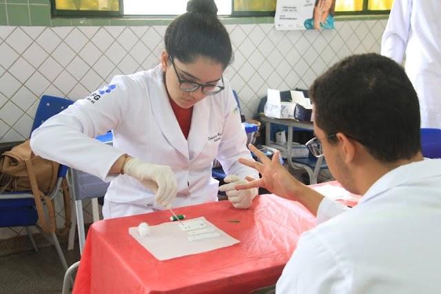 Senador Canedo: Estação da Saúde traz informações sobre hipertensão