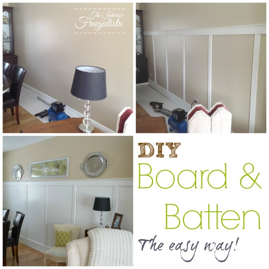 An easy DIY Board and Batten Wall