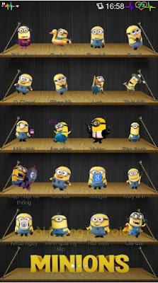 Kumpulan Tema Oppo Terbaik - Minions Android
