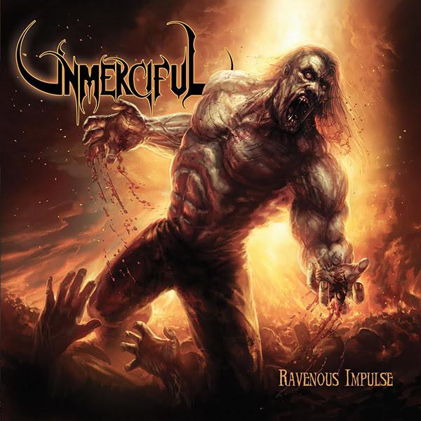 "UNMERCIFUL Membocorkan Artwork Full Album Gress "" Ravenous Impulse "" yang Rilis 22 Juli 2016 Via Unique Leader Records !!!"