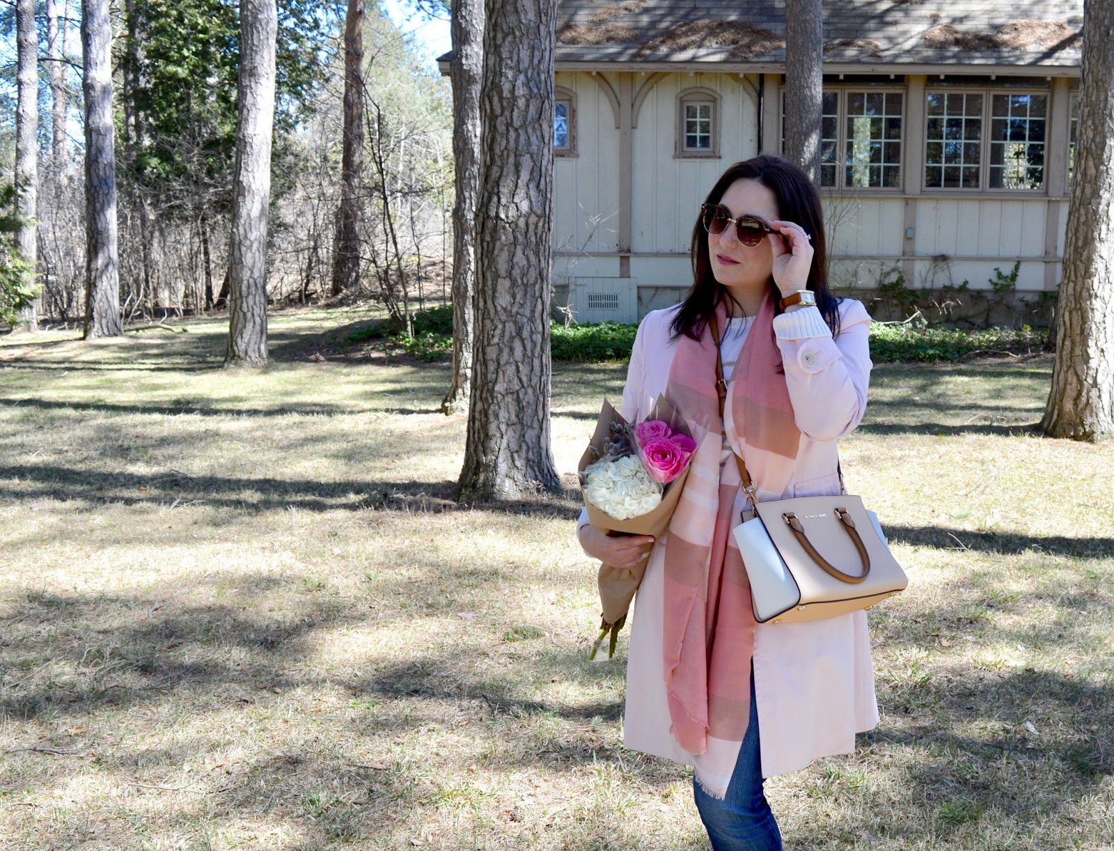 spring transitional outfit