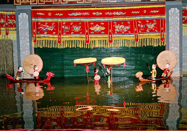 The history of Vietnamese Water Puppetry art 1