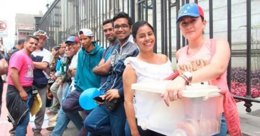RENIEC revela cuántos venezolanos podrán votar en elecciones municipales 2018 - www.reniec.gob.pe