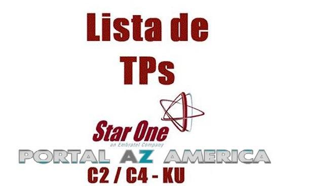 Resultado de imagem para LISTA DE TPS ATUALIZADOS STARONE C2 PORTAL AZAMERICA